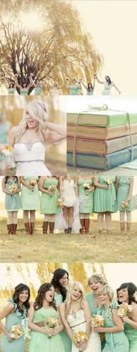 mint bridesmaid dresses - Google Search