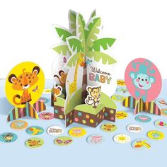 Check out Fisher Price Baby Shower Table Decorating Kit - Party Decorations…