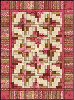 "This showed up under ""Bonnie Hunter quilt design"". . . but I'm not sure.  I like the quilt design."