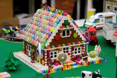 Gingerbread House - this is too cute! I want to know how to get all the pieces and instructions to make this!