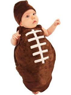 infant finn the football bunting baby boy halloween costumestoddler - Infant Football Halloween Costume