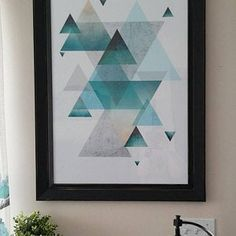 Set of 3 minimalist printable posters Geometric minimal Scandinavian modern art blush pink beige turquoise black grey Geometric print set Geometric Poster, Geometric Art, Costco, Scandinavian Modern, Floral Pattern Vector, Art Deco, Trending Art, Gris Rose, Frames
