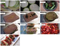 Ingredienti dosi per 4 persone 400 g di filetto di pesce spatola (oppure filetto di spigola, o branzino, o orata, insomma il filetto di pesce che preferite) 1 zucchina tonda grande 100 g di pomodorini di pachino o ciliegino foglie di basilico 100 g di pangrattato sale, pepe, olio evo q.b. Procedimento Lavate la zucchina e tagliatela a fette spesse 5 mm (foto 01), spennellatele con un po' d'olio e grigliate (foto 02). Nel frattempo preparate un pesto di basilico pestandolo nel mortaio…