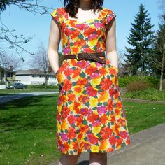 1202 Cambie Dress by sewaholicpatterns