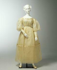 1833 Wedding dress   From the Powerhouse Museum