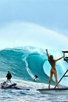 #spring #ss15#Fitness#serious#sunset #ocean #longboard #Hawaii #surfer #serf