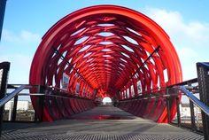 La Roche-sur-Yon Pedestrian Bridge, France…