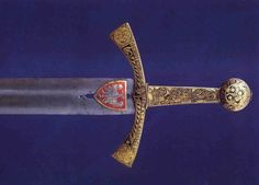 Szczerbiec, the coronation sword of the kings of Poland. Szczerbiec (literally notched sword) is a sword that was traditionally used in the coronation ceremony of Polish kings from the time of Władysław Łokietek (1320) to the time of partitions (around 1792). Nowadays it is shown in the museum of Wawel, Cracow.