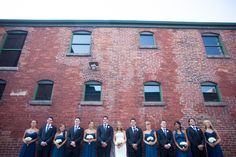 Distillery District wedding party Love Your Life, Distillery, True Love, Party, Wedding, Real Love, Casamento, Weddings, Receptions