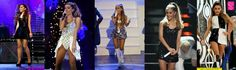 Ariana Grande stage outfit