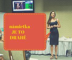 Video kde a s vami podelím čo urobiť ak dostávate námietku  - Je to drahé. http://www.martinalamosova.sk/namietka-je-to-drahe/