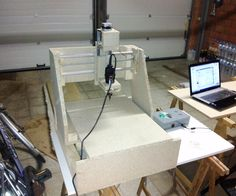 thank you you helpen me a lot just by opening that instructable !! now enyoy my instructable.this is my first instructable. i show you updates on my cnc machine which will cost about 200 euro's for still decent quality.don't hate if you dont like this instructable, I'm just an 18 years old student from belguim sharing his ideas and creations whith other people. becous i think working together and sharing idea's will make better projects.this is what the machine looks like righ...