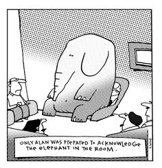 """The """"Grumpy"""" Poet – Don't Ignore the Elephant in the Room! 