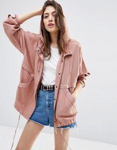 Super cute and affordable fall jacket. http://spotpopfashion.com/sv18