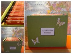 Caja de cartón - archivador