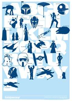 Star Wars alphabet OMG yes this is awesome
