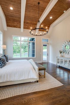 Tennessee Dark Modern Farmhouse #bedroomdecor
