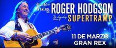 ROGER HODGSON (Ex SUPERTRAMP) vuelve a Argentina
