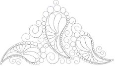 Shop | Category: Feathers / Pearls / curls | Product: SP Paisley 17 Feathers Tri