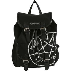 Supernatural Runes Medium Slouch Backpack Hot Topic ($35) ❤ liked on Polyvore featuring bags, backpacks, slouchy backpack, drawstring backpack, slouch bag, slouchy bag and draw string backpack