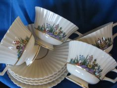 Lenox Rutledge Teacup Saucer Great Rutledge by ChinaGalore on Etsy, $90.00
