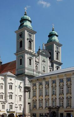 Alter Dom (Old Cathedral), Linz, Austria.