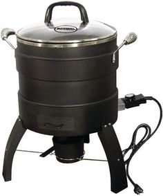 Butterball - 18lb Capacity Electric Oil-Free Turkey Fryer