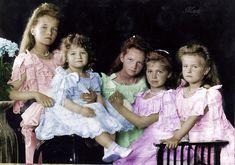 Children of the last Tsar by Maydy.deviantart.com on @DeviantArt