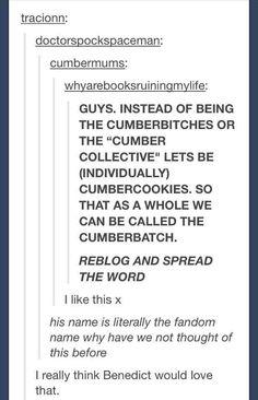 We are cumbercookies!!!!!
