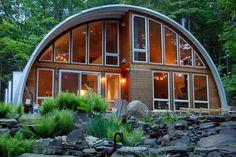 casas cabina quonset metal del hogar