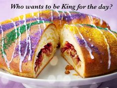 Learn about King Cake, a celebratory Mardi Gras tradition!