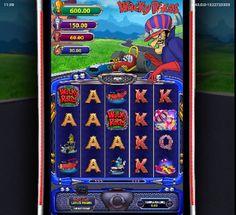 Spill på Wacky Races spillautomaten og prøv mange flere populære kasinospill online. #WackyRaces #spillautomaten @gokkasten Race 3, Free Slots, Live Casino, Slot Machine, Pinball, Arcade Games, Manga, Vending Machines, Manga Anime