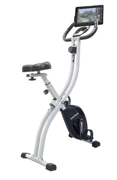 Innova Health and Fitness Folding Best Upright Exercise Bike