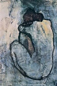 Picasso - Blue Nude 1902