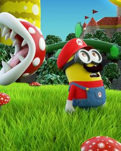 Super Minion Bros :O this would be WICKED