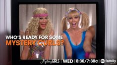 """S1 Ep1 """"Death Becomes Her"""" - Work it, girls! #MysteryCurls for our #MysteryGirls!"""
