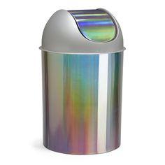 Umbra Mezzo Swing-Top Waste Can, 2.5-Gallon (9 L), Rainbow