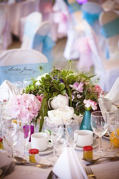 Vintage theme wedding at Monkey Island -flowers & decor by Seventh Heaven Events #seventhheavenevents