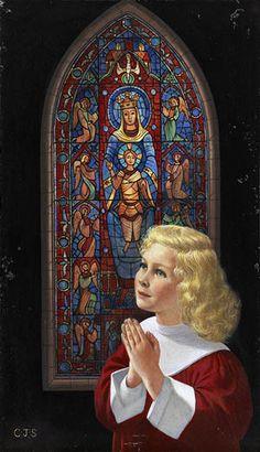 Praying Child ~ by Charlotte Joan Sternberg
