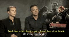 What happens when you ask male action stars the questions female stars actually get? Funny!