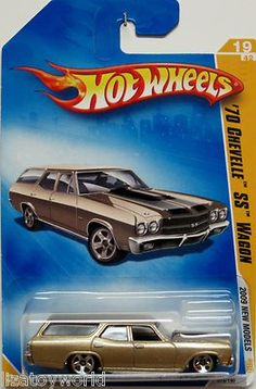 1970 Chevy Chevelle SS Wagon 2009 Hot Wheels #19/42 GOLD
