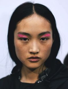 jing wen at giambattista valli s/s 16