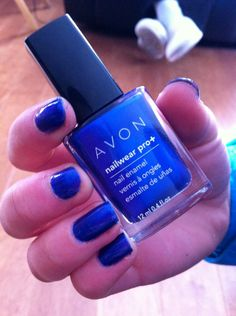 Name}} your local Avon Representative! Avon Nail Polish, Avon Nails, Avon Representative, Beautiful Inside And Out, Domestic Violence, Blue Nails, You Nailed It, Pretty Girls, Charity