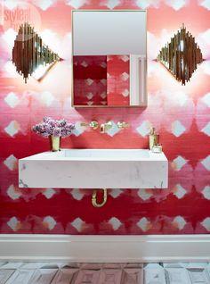 Bathroom design: Fresh femininity {PHOTO: Virginia MacDonald}