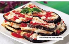 Eggplant with cheese