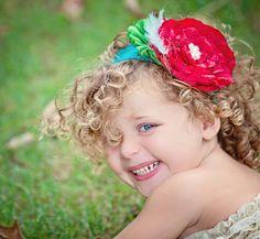 Ravashing Red Satin FlowerMTM Matilda Jane by lolafina on Etsy, $16.50