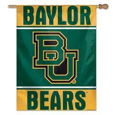 Baylor University Banner Flag