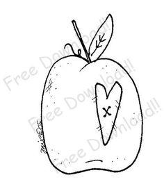 Free Prim Patterns to Download | Free Goods - Free Patterns - Fruits and Veggies - Free Apple with Prim ...