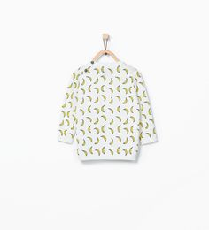 Banana print sweater-Sweaters & Cardigans-Baby boy (3 months - 3 years)-KIDS | ZARA United States