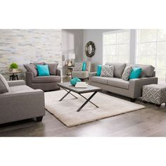 Offer A Dignified And Tasteful Living Room To Your Guests With This Julia  Sofa. Light Grey Chenille Upholstery Establishes A Traditional Flair  Without ...